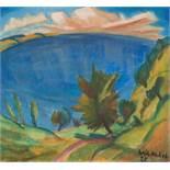 Erich Heckel1883–1970Blick aufs Meer1920Tempera auf Leinwand67,5 x 74,5 cmSammlung Antenrieth,