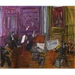 Raoul Dufy1877–1953Le QuintetteÖl auf Leinwand38 x 46 cmGalerie Beyeler, BaselPrivatbesitz,