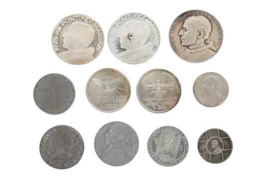 11 Vatikan Münzen Medaillen Pius Xii Metallsilber Ua Best Aus