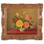 James Noble (Brit.1919-89) 'Fragrance of summer', oil on canvas,signed