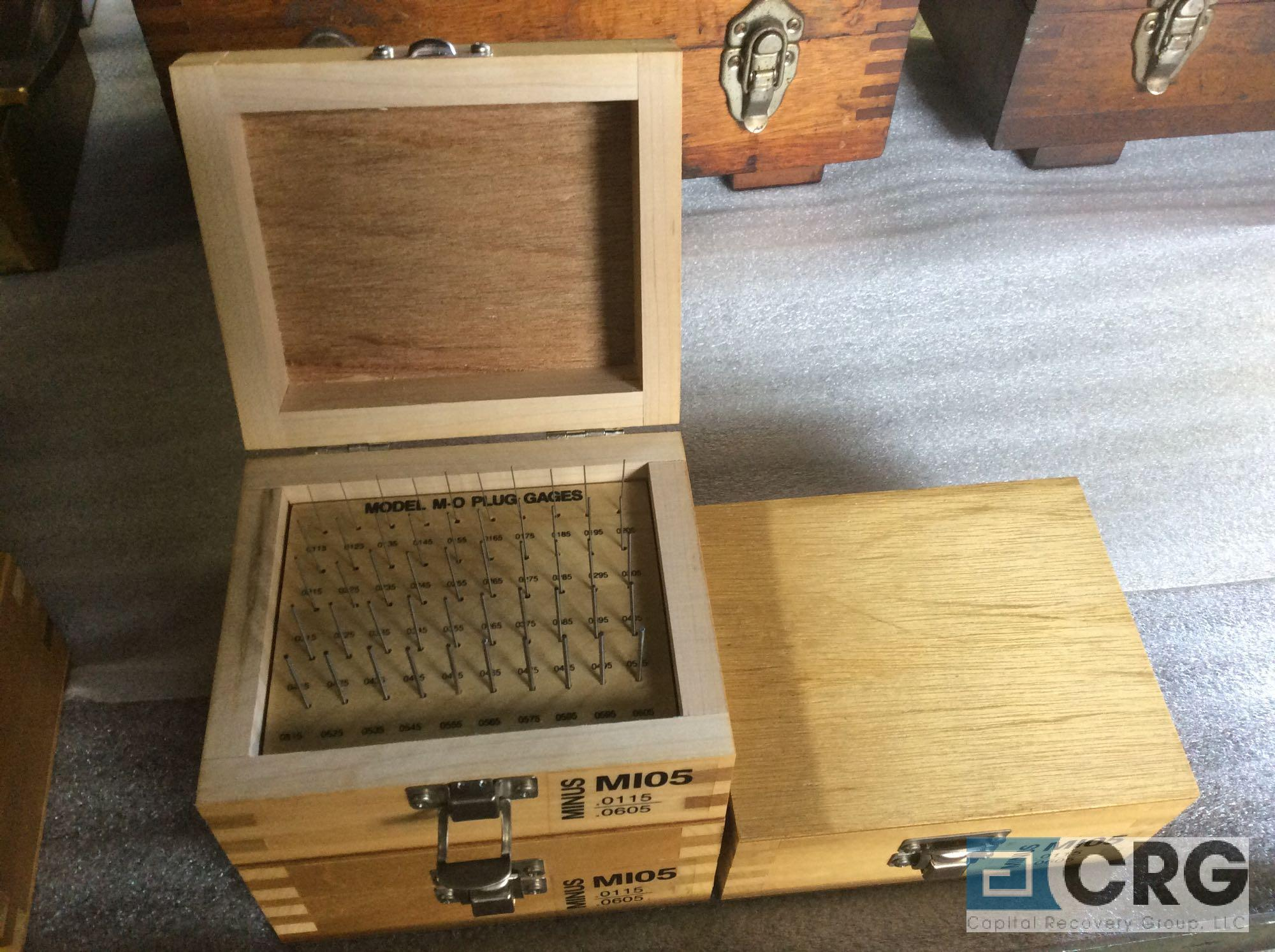 Lot 141 - Lot of (3) Pin Gage Minus .0115 - .0605 sets