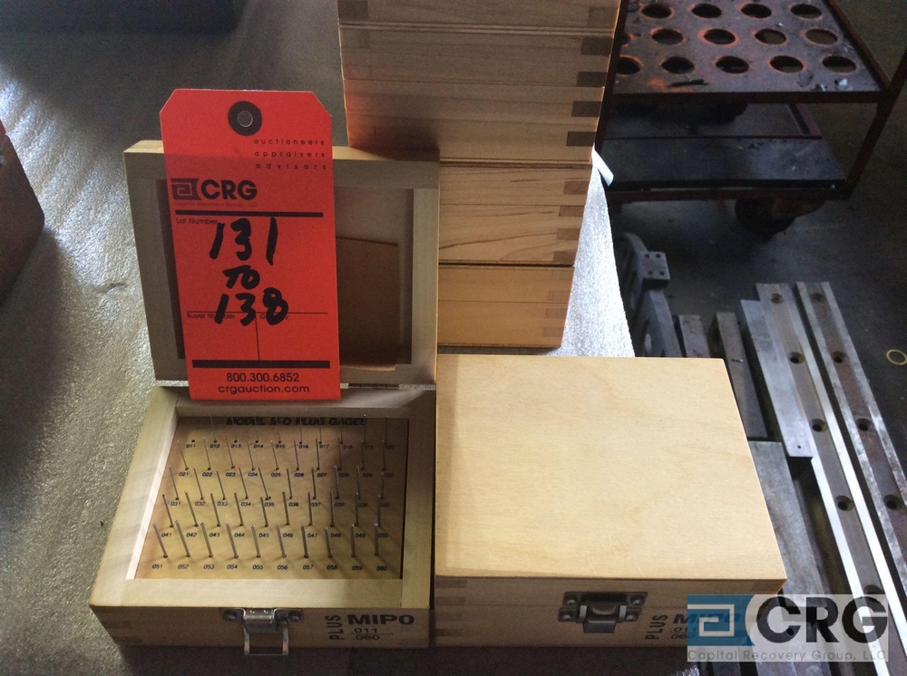 Lot 137 - Lot of (2) Pin Gage Plus .011 - .060 sets