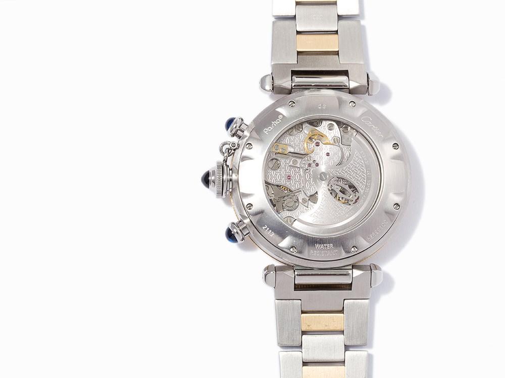 Cartier Pasha Chronograph Ref 2113 Switzerland C