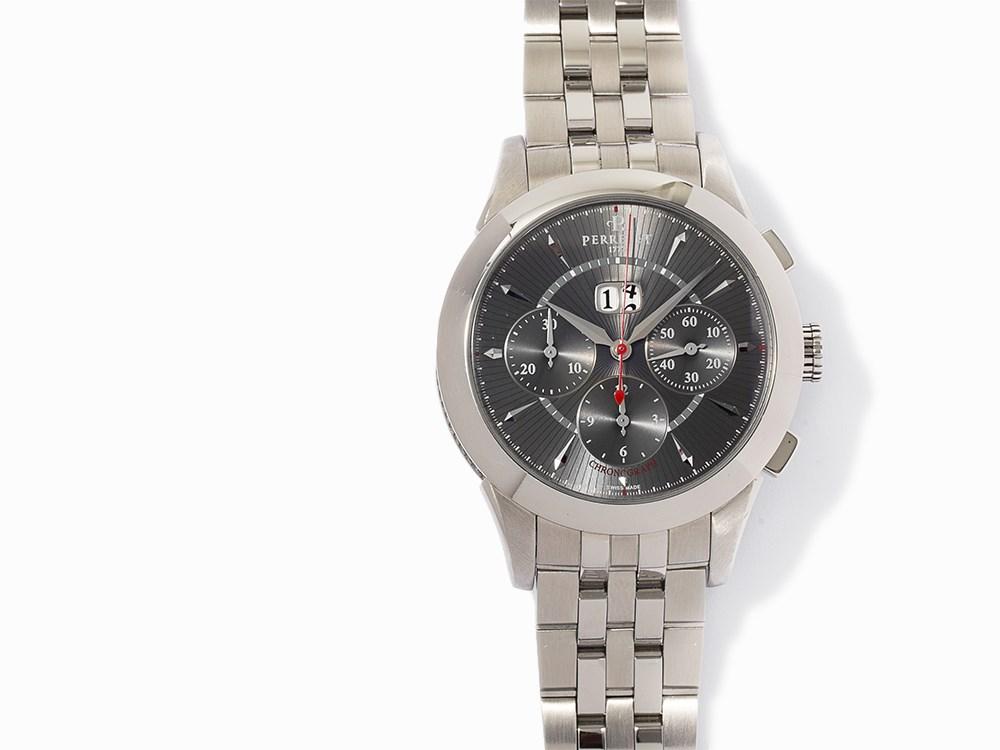 Perrelet Chronograph Big Date Ref A1008 A0135 C