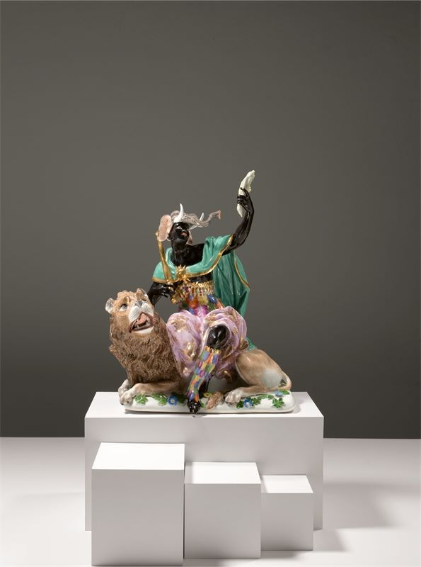 "Los 315a - Porzellanmanufaktur Meissen ()""Große Erdteilgruppe Afrika"" – nach dem Modell Johann Joachim"