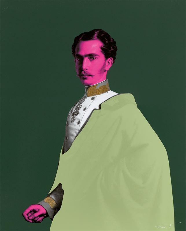 "Los 301 - Magnus Gjoen (London 1979 – lebt in London)""A Little Gentleman of Nothing"". 2019Archival Pigment-"