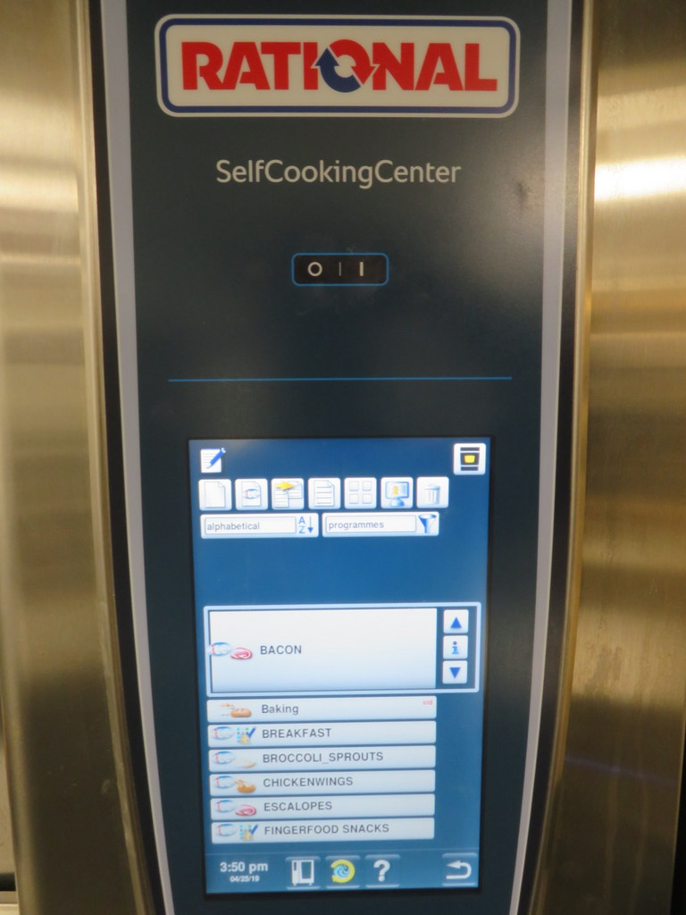 Lot 3 - 2018 RATIONAL MODEL SCC WE 101 SELF COOKING CENTER