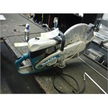 Makita Gas Powered Chop Saw, Model: DPC8112   (ET- ) Located in Dunkirk, New York **__ A Rigging Fee