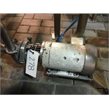 SS centrifugal pump and motor (ET- ) Located in Dunkirk, New York **__ A Rigging Fee of $25 will be