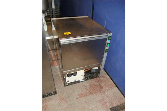 univer bar bet 37 stainless steel compact glasswasher - Bar Glass Washer