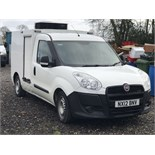 2012 DOBLO REFRIGERATED INSULATED VEHICLE DIRECT ANGLIAN WATER