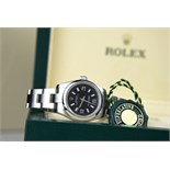 ROLEX - OYSTER PERPETUAL 26 - STEEL / BLACK DIAL (176200)