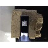 APPROX 4.00ct PRINCESS CUT DIAMOND RING SET IN PLATINUM