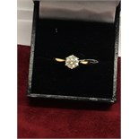 1.00ct DIAMOND SOLITAIRE RING SET IN 18ct YELLOW GOLD