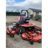 Jacobsen Textron HR-5111 4WD Bat Wing Mower (3.3m Cut) c/w Hydraulic Folding Decks