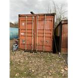 9m Steel Shipping Container c/w Barn Doors