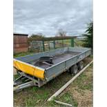 Ifor Williams LM166G 4.8m Twin Axle Commercial Trailer c/w Drop Sides