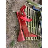 Single Leg Drainage Plough/Soil Ripper/Pipe Layer
