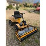 Stiga Park Comfort Ride on Lawn Mower (1,123 Hours) c/w 1.2m Front Deck