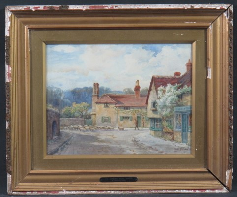 Lot 136 - SAM GARRATT (Welsh early 20th Century, B