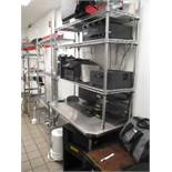 Metro Shelf Desk Unit