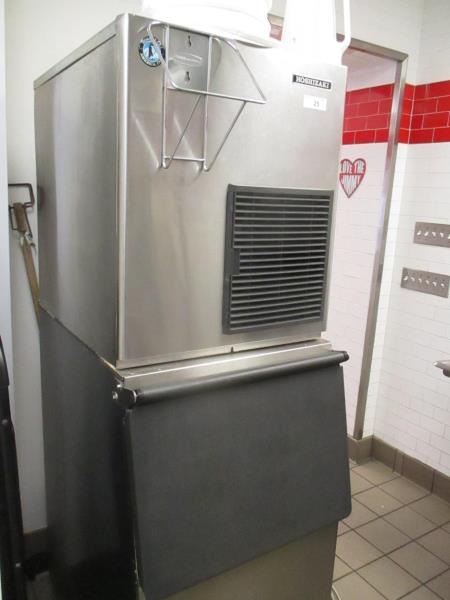 Ice Machine by Hoshizaki, Model: F-80/MWH-C, SN: D01651B - Image 5 of 6