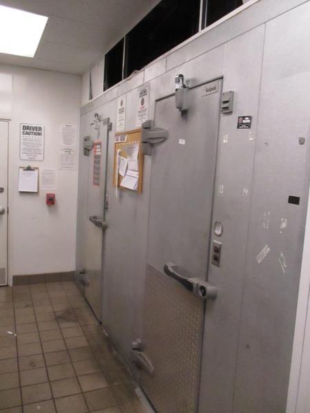Walk In Cooler / Freezer Combo Unit, (2) Exterior Doors, Drop In Compressors, Overall: 12' x 6' x - Image 10 of 11