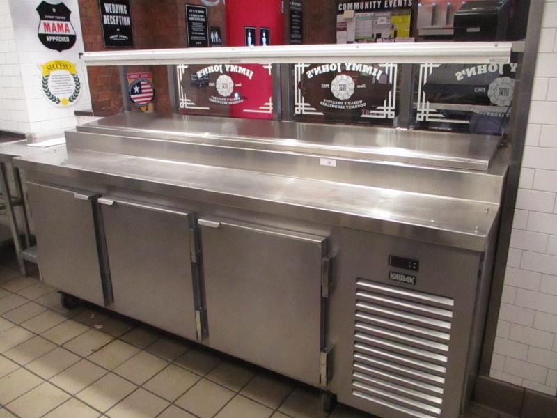 Lot 16 - Sandwich Prep Units by Kairak, Model: KBP-91S, SN: K60295C14