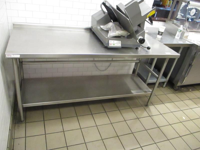 Lot 20 - 6' Stainless Steel Prep Table