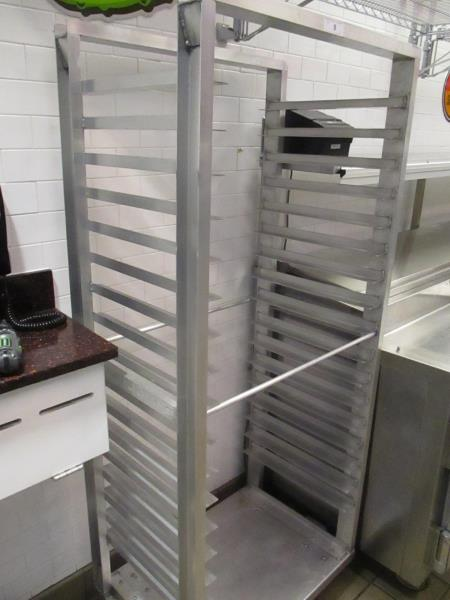 Lot 9 - Aluminum Sheet Pan Rack