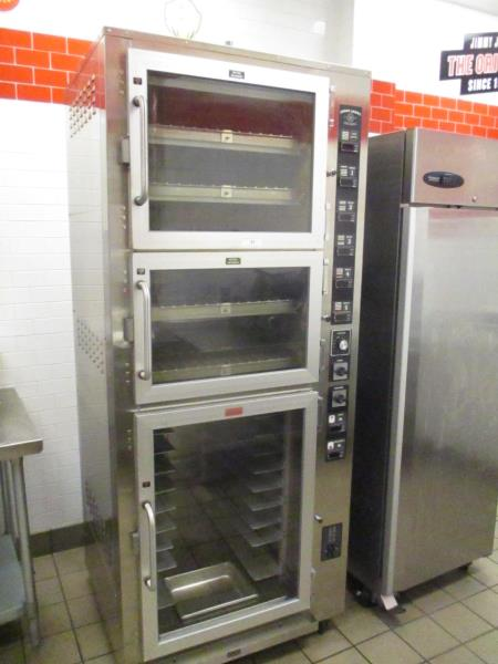 Lot 21 - Electric Bread Oven / Proofer, 3 Phase, Model: OP-5-JJ-D-20873, SN: 36330