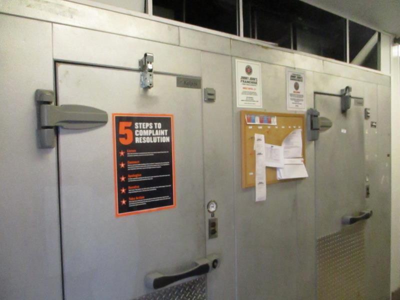 Walk In Cooler / Freezer Combo Unit, (2) Exterior Doors, Drop In Compressors, Overall: 12' x 6' x