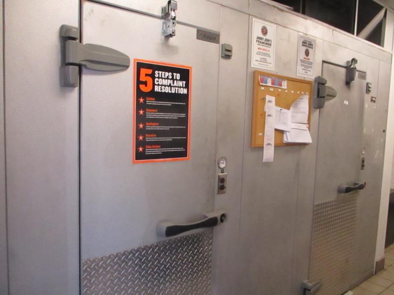 Walk In Cooler / Freezer Combo Unit, (2) Exterior Doors, Drop In Compressors, Overall: 12' x 6' x - Image 11 of 11