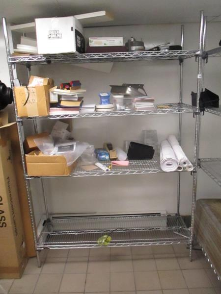 Metal Wire Metro Shelf Unit