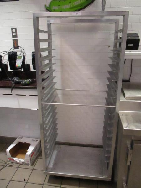 Aluminum Sheet Pan Rack