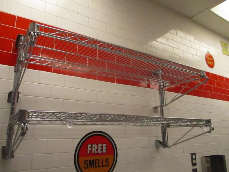 Metal Wire Metro Wall Racks - Image 2 of 2