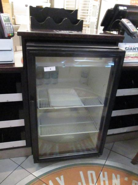Lot 4 - Undercounter Single Glass Door Merchandiser Cooler by True, Model: GDM-07-LD, SN: 7948875