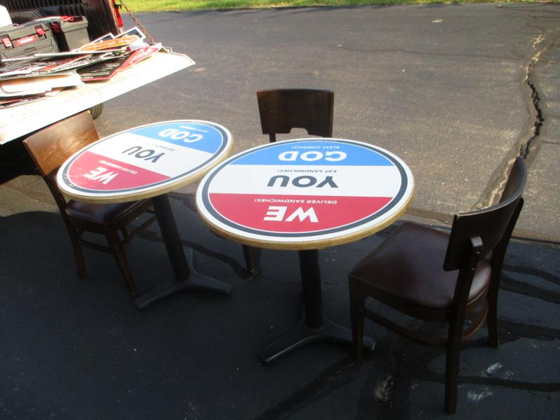 Lot 50 - 2 Tables & Chairs