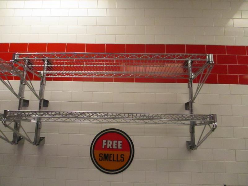 Metal Wire Metro Wall Racks