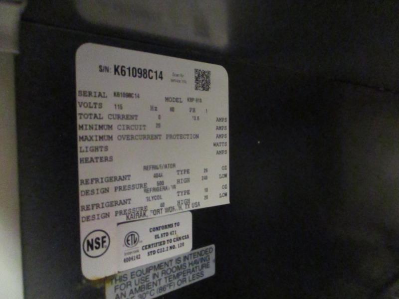 Sandwich Prep Units by Kairak, Model: KBP-91S, SN: K61098C14 - Image 4 of 8