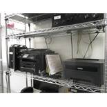 CPU by HP, Model: Pavilion, LED Monitor & Epson Workforce WF-3540 Laser Multifuntion Printer, Broher
