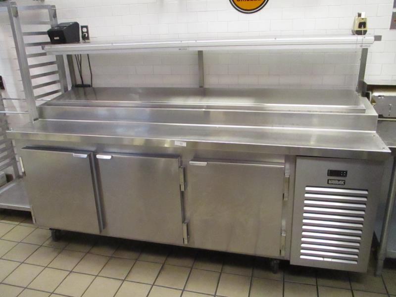 Sandwich Prep Units by Kairak, Model: KBP-91S, SN: K61098C14