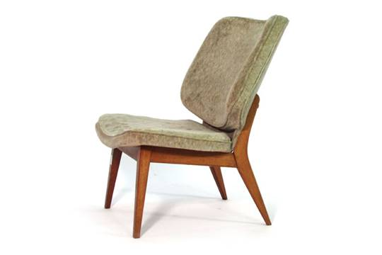 Peachy A 1950S Upholstered Lounge Chair On Beech Tapering Legs In Caraccident5 Cool Chair Designs And Ideas Caraccident5Info