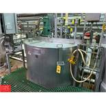2012 Lee 500 Gallon Dual-Hinged-Lid Jacketed S/S Kettle Model 500 D : SN 72622-1, 125 PSI Jacket,