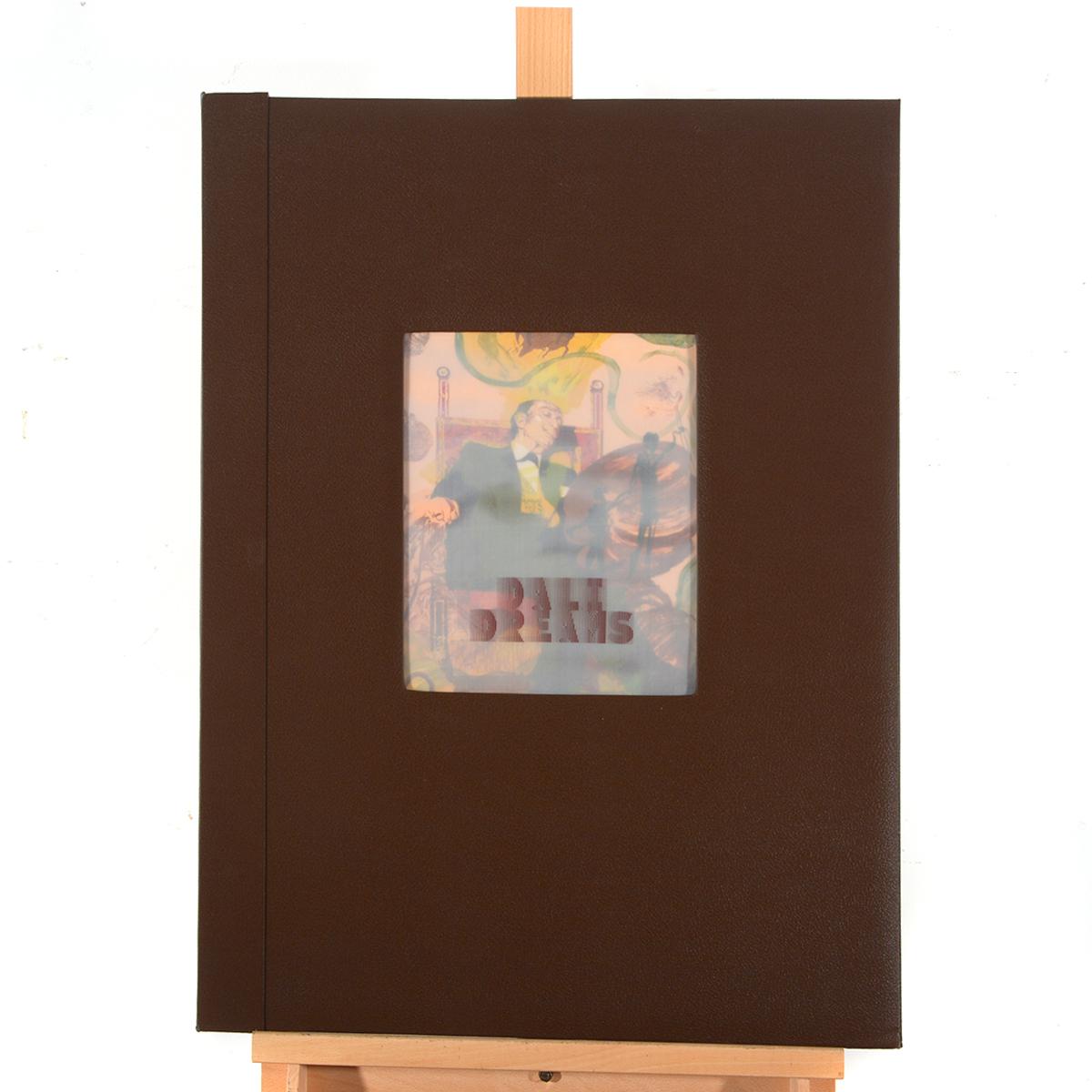 "Lot 321 - Salvador Dali ""Tarot: King of Coins"" litho. in portfolio"