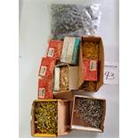 (4) Hardware Organizers, Wire Nuts, and Assorted Terminals