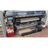 HP latex 360 wide format printer product code B4H70A/L4R41A, serial no. MY5724902P. Includes the