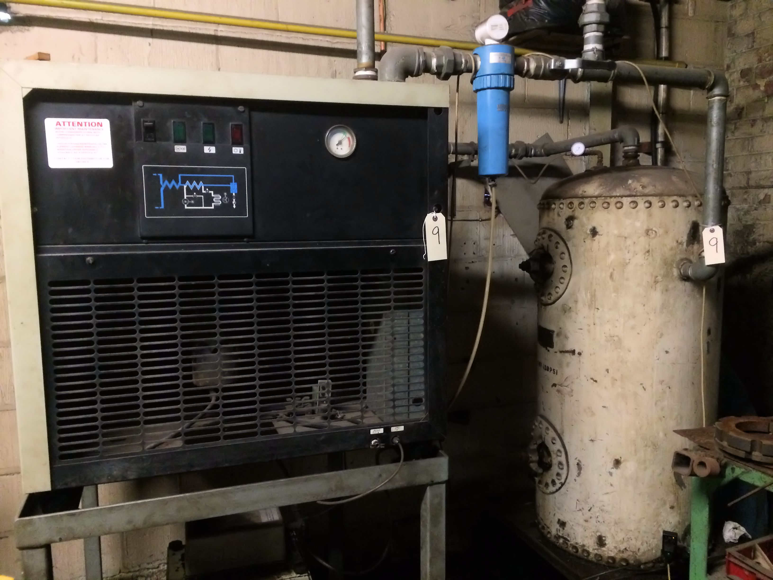 how to make a compressed air dryer