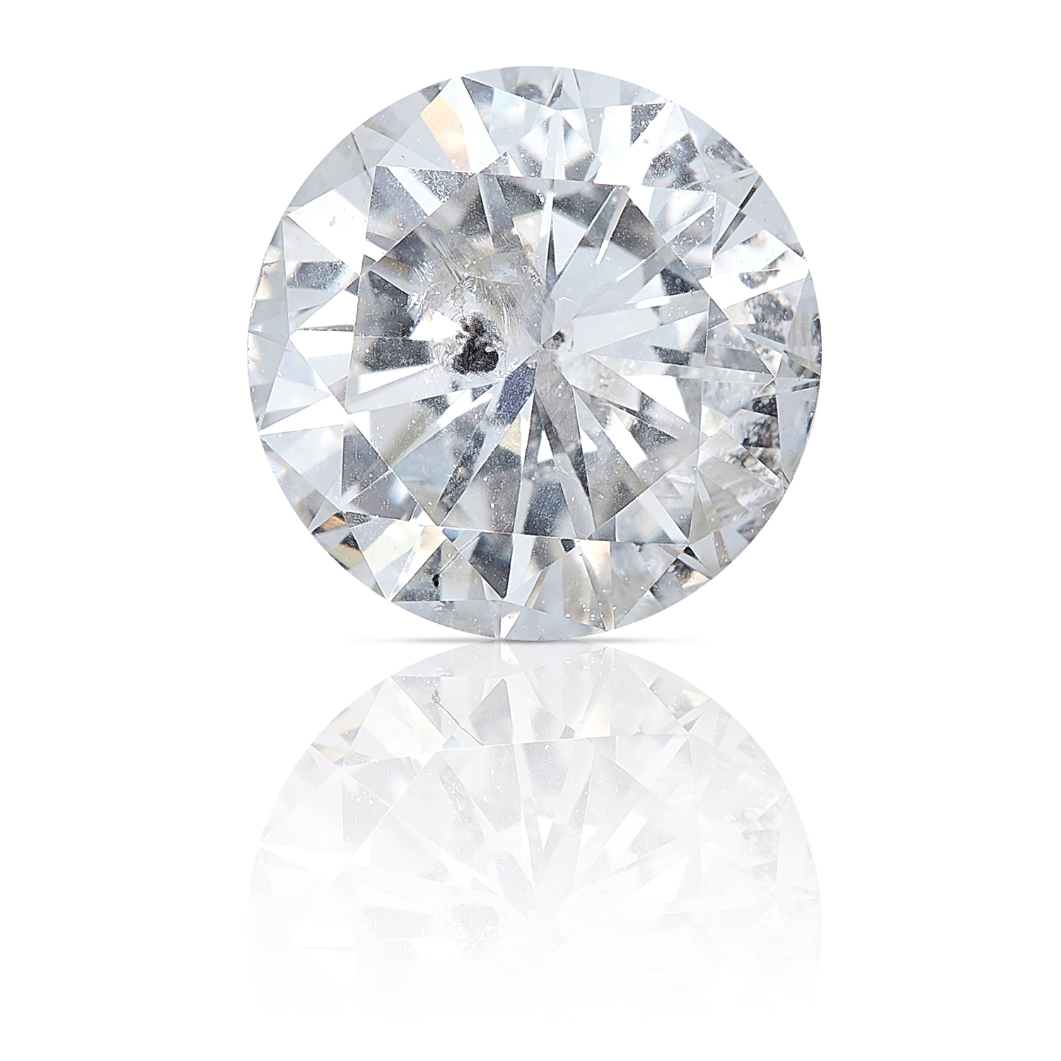 A ROUND CUT MODERN BRILLIANT DIAMOND TOTALLING 1.04cts, UNMOUNTED.