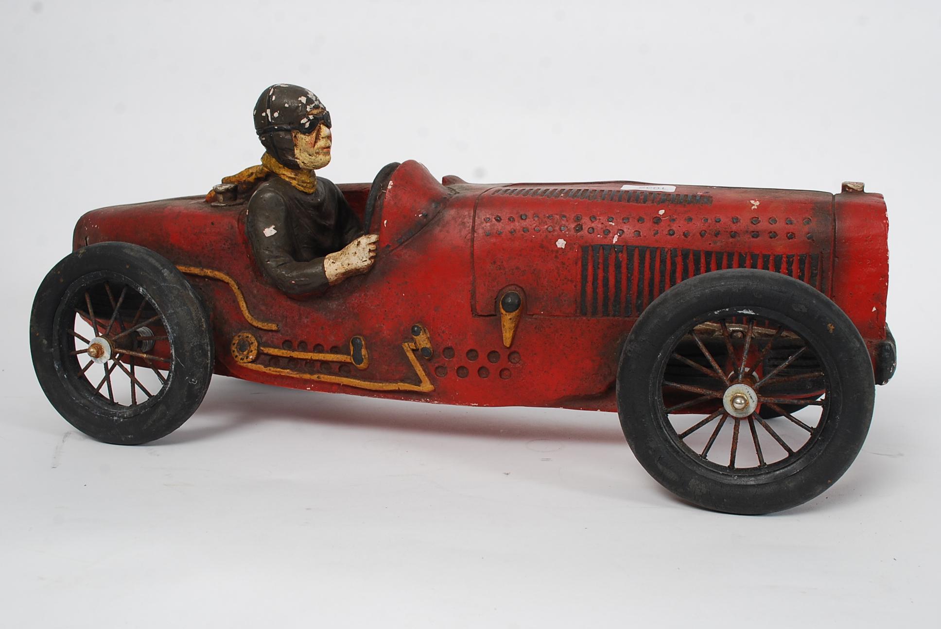 Vintage Race Car Driver 96